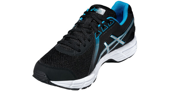 asics M's Gel-Impression 8 Shoes Black/Silver/Methyl Blue